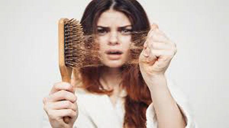 تساقط الشعر وعلاجة