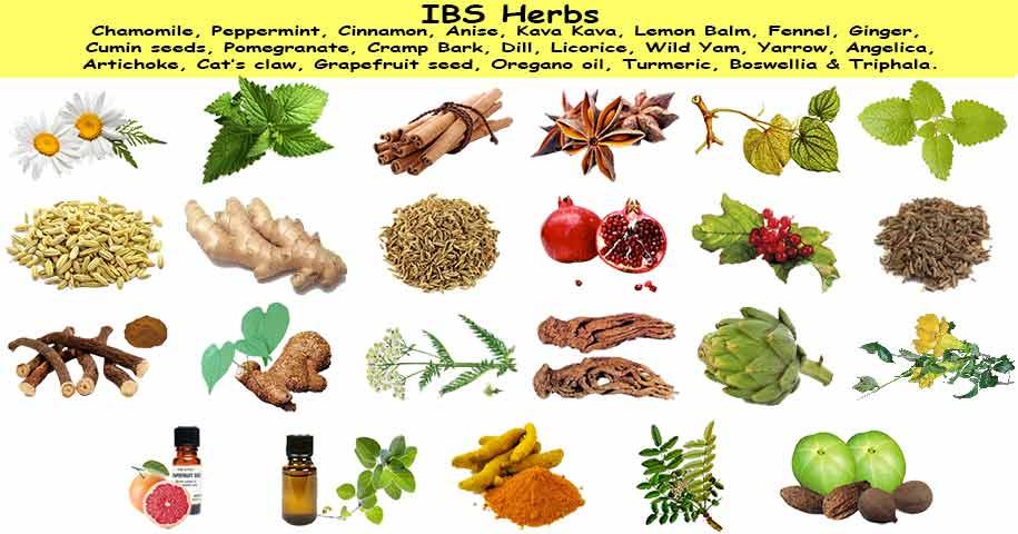 علاج القولون بالاعشاب والاكلات الطبيعية