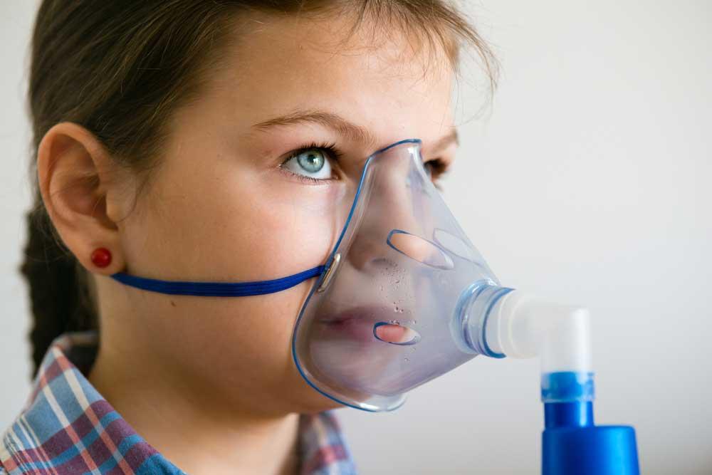 علاج حساسية الصدر عند الاطفال