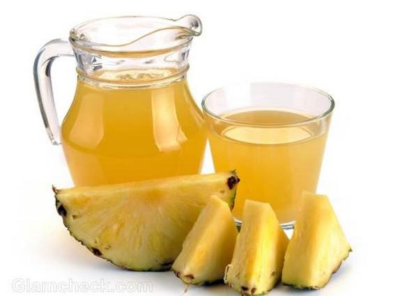 فوائد عصير الأناناس للحامل
