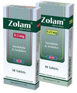 دواعي استخدام أقراص zolam
