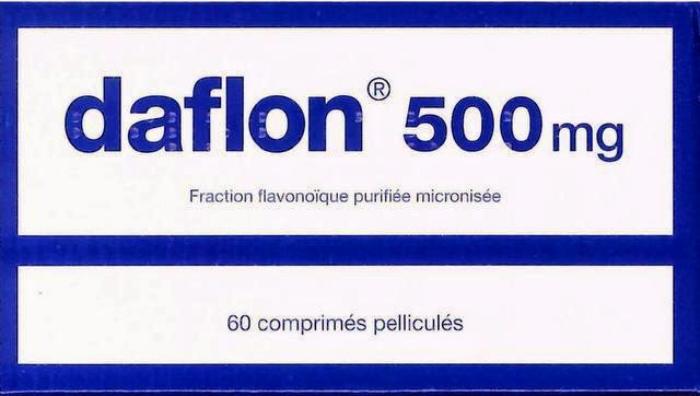 دواعي استخدام أقراص daflon