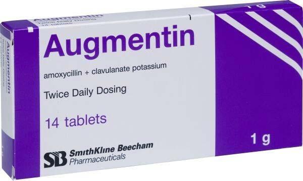 الآثار الجانبية الخاصة بدواء اوجمنتين Augmentin :