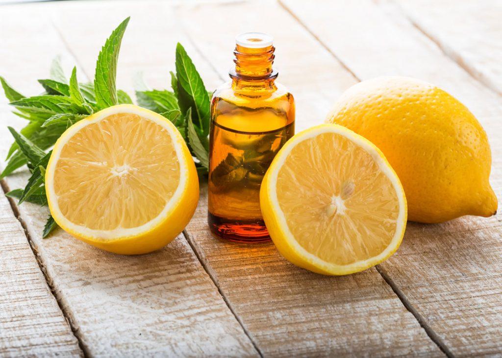 زيت الليمون لتحسين المزاج العام