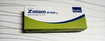 الآثار الجانبية الخاصة بتناول أقراص زولام zolam :