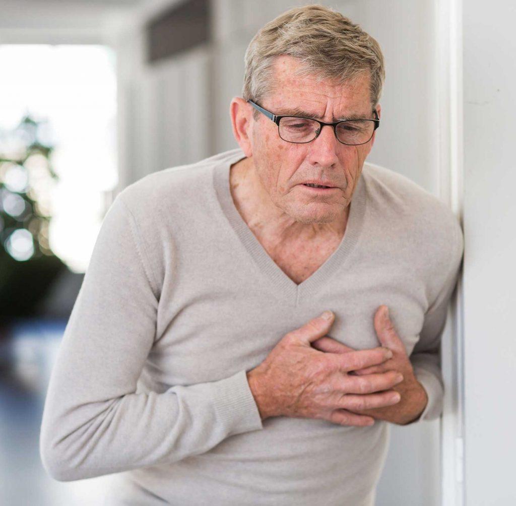 الذبحة الصدرية وأعراضها وكيفيه علاجه