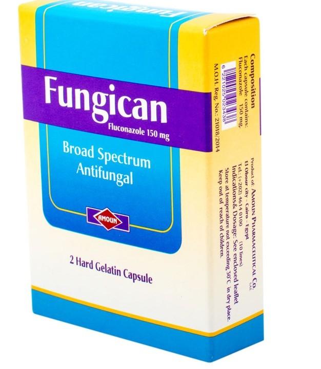 دواء فنجيكان Fungican لعلاج الفطريات والالتهابات المهبلية