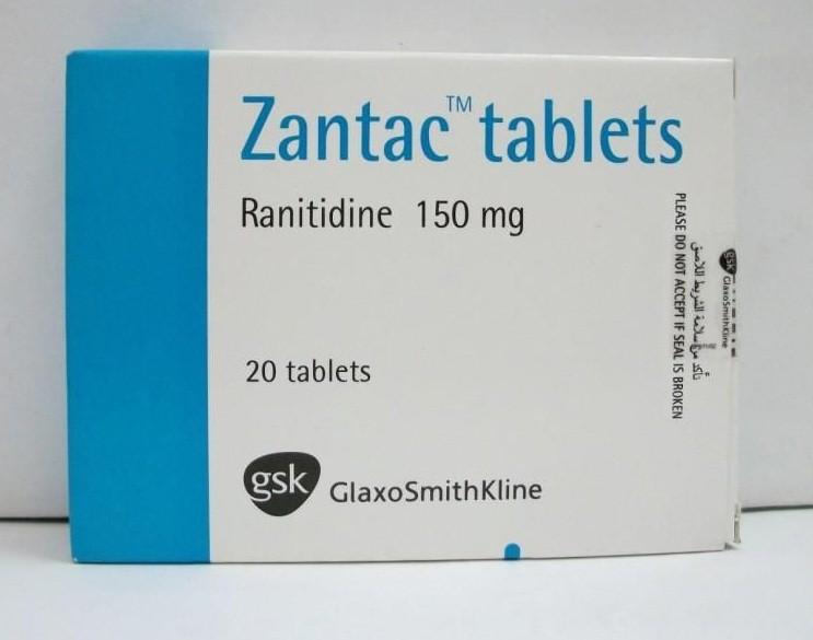 Photo of أقراص زانتاك Zantac لعلاج الحموضة وقرحة المعدة والإثنى عشر