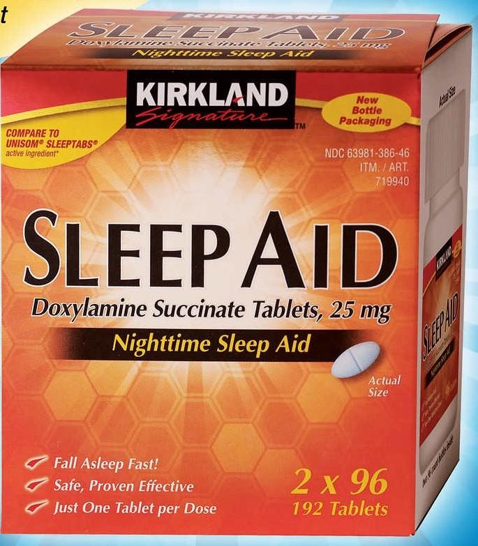 سليب أيد Sleep AID لعلاج الأرق عند البالغين وكبار السن
