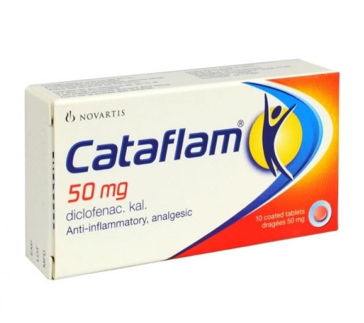 كتافلام Cataflam tables أقراص مسكن وخافض للحرارة ومضاد للروماتيزم