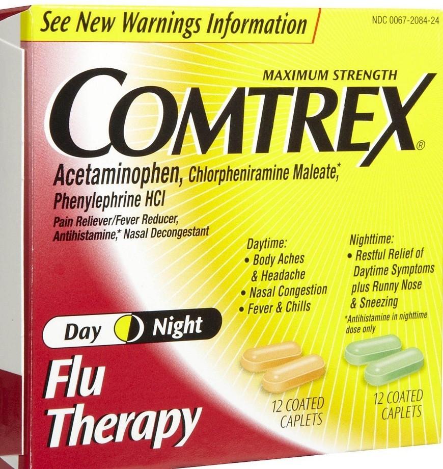 كومتركس أقراص Comtrex Tablets لعلاج أعراض البرد والانفلونز