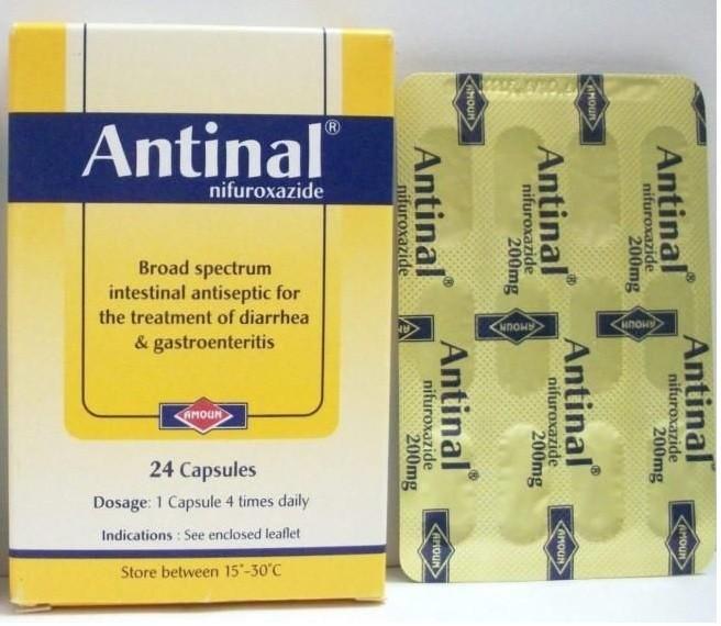 الخواص لتناول انتينال Antinal