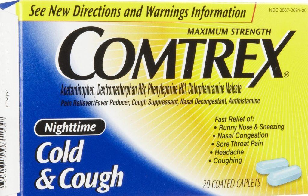 موانع استعمال دواء كومتركس أقراص Comtrex Tablets