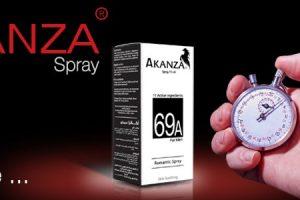 أكانزا سبراى Akanza Spray للتخلص الامن من سرعة القذف