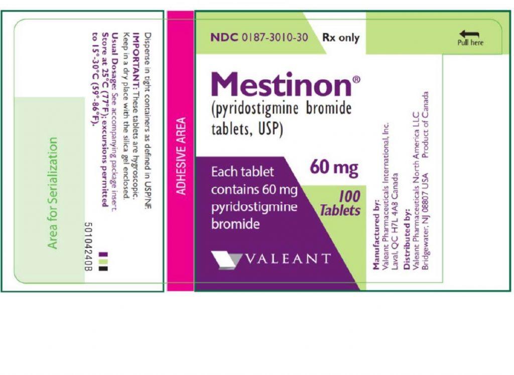 دواعي إستعمالميستينون أقراص Mestinon Tablets