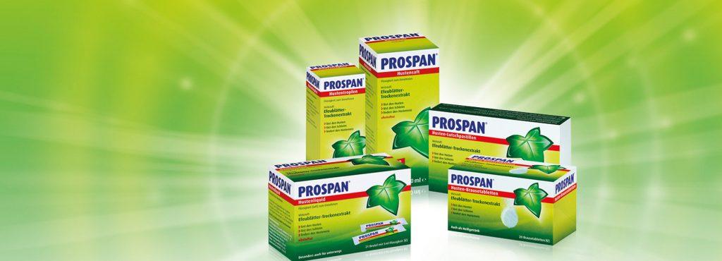 دواعى استعمال دواء بروسبان شراب Prospan Syrup