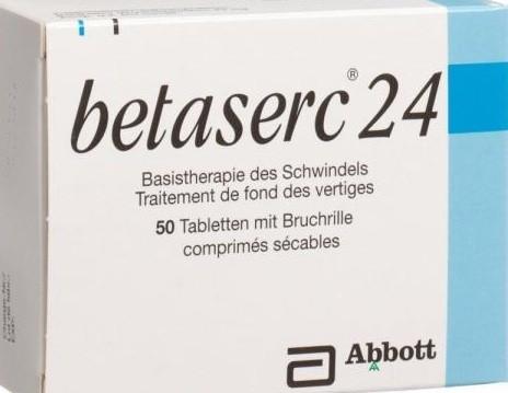 الآثار الجانبية الخاصة بدواء Betaserc