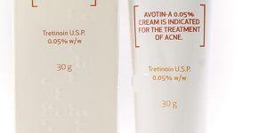 كريم أفوتين أي Avotin A Cream لعلاج التخلص من حب الشباب والكلف بالوجة