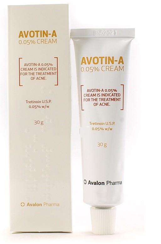 Photo of كريم أفوتين أي Avotin A Cream لعلاج التخلص من حب الشباب والكلف بالوجة