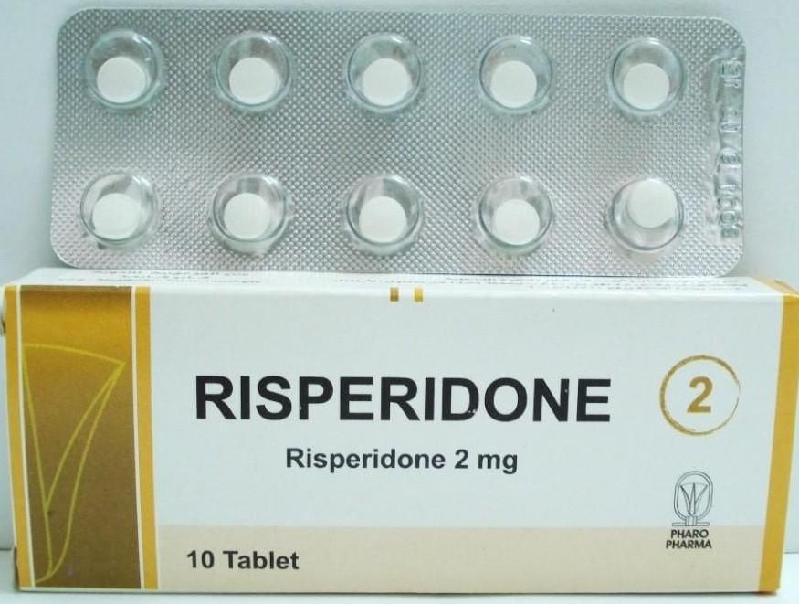 اقراص ريسبيريدون Risperidone لعلاج الفصام والإضطرابات العقلية