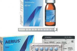 أيريوس أقراص Aerius Tablets لعلاج الحكة الجلدية والحساسية