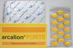 أركاليون فورت arcalion forte أقراص لتحسين الذاكرة ومقوي عام