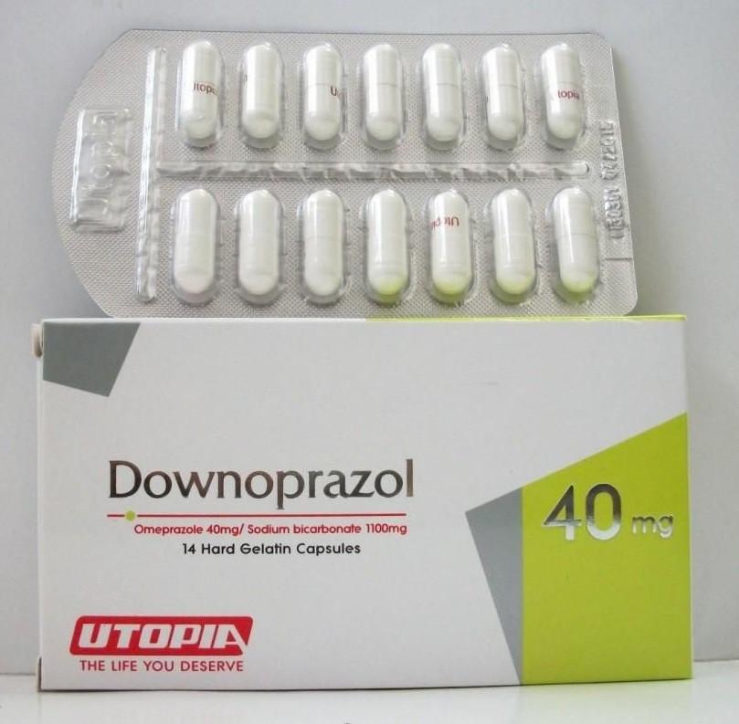 داونوبرازول كبسولات Downoprazol Capsules لعلاج الحموضة وقرحة المعدة