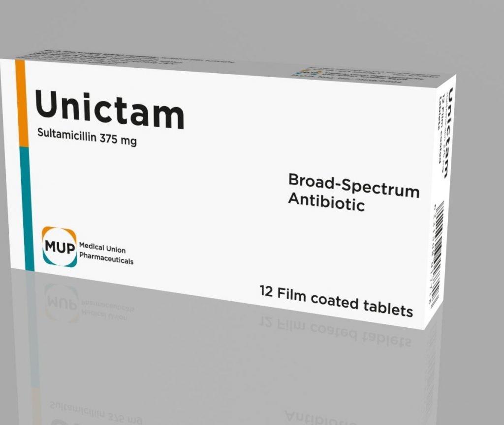 يونيكتام Unictam اقوي مضاد حيوي لقتل البكتريا والجراثيم والجرعة المطلوبة