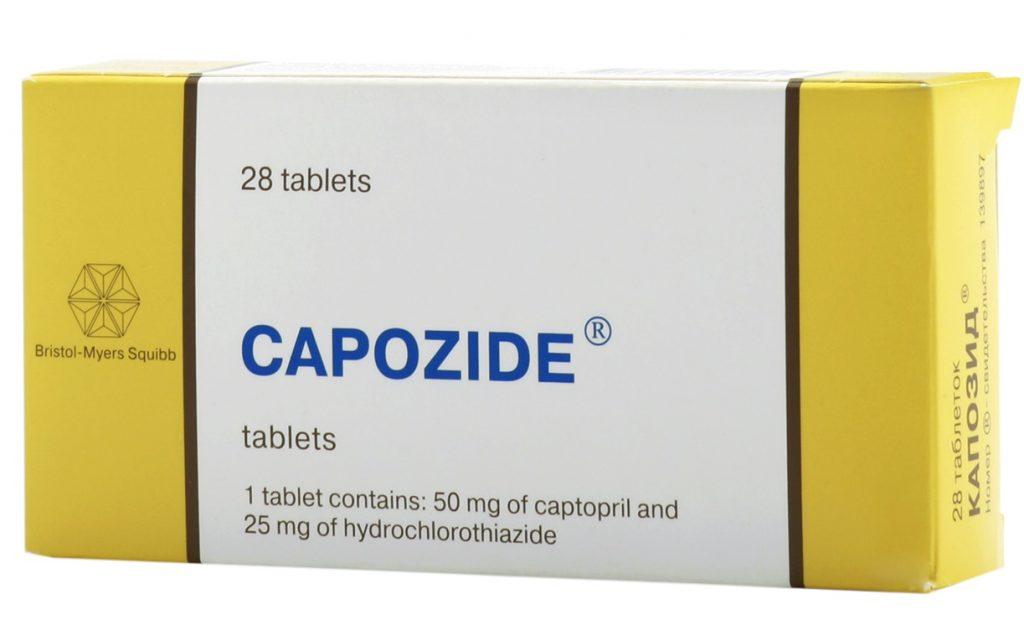 الآثار والأعراض الجانبية لتناول دواء كابوزايد أقراص لضغط الدم