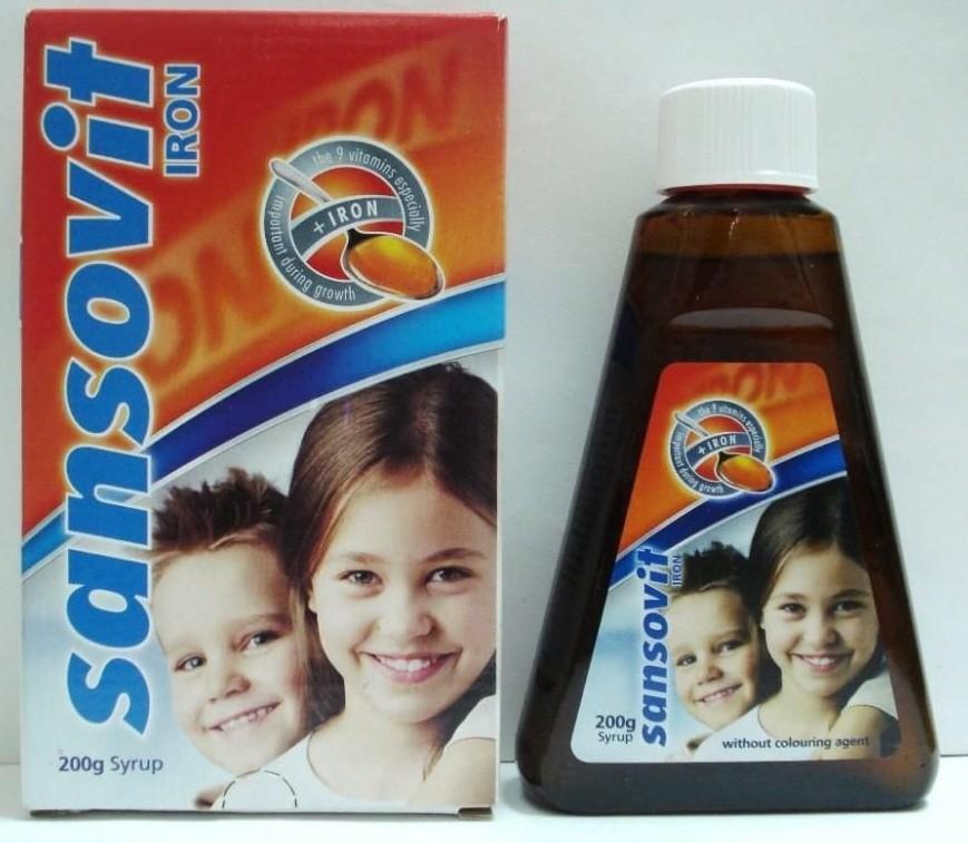 سانسوفيت Sansovit لعلاج نقص الفيتامينات عند الطفل