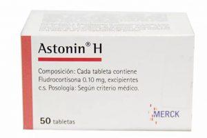 أستونين – هـ  Astonin – H Tablets لعلاج ضغط الدم المنخفض إستخدماتة وموانع إستعمالة