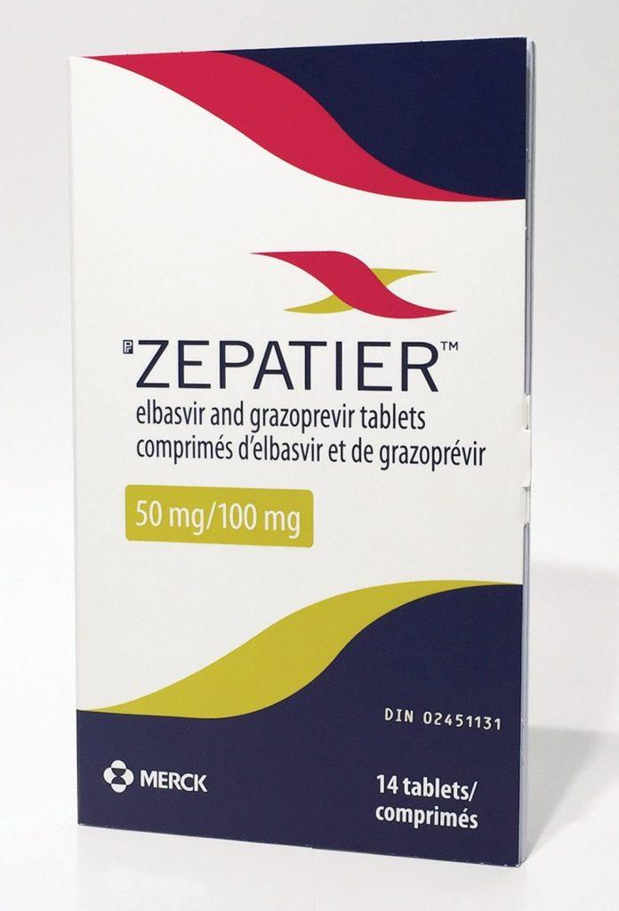موانع الاستعمال لدواء زيباتير أقراص Zepatier Tablets