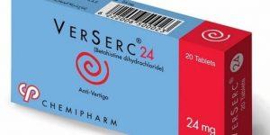 فيرسيرك أقراص Verserc Tablets لعلاج الدوخة