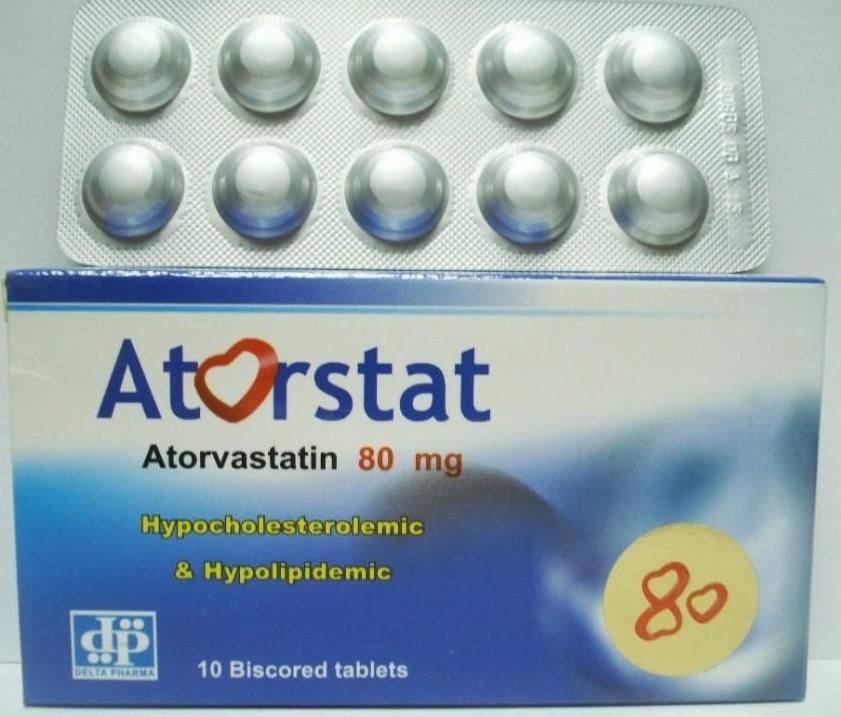 أتورستات أقراص Atorstat Tablets لتنظيم الدهون بالدم