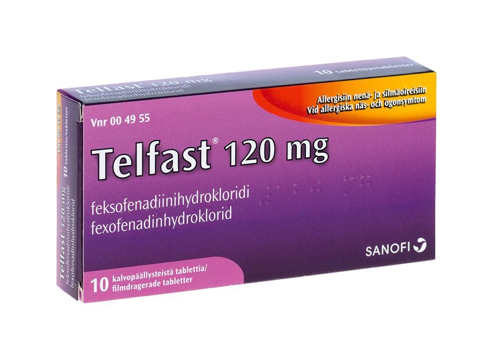 سعرتلفاست Telfast Tablets