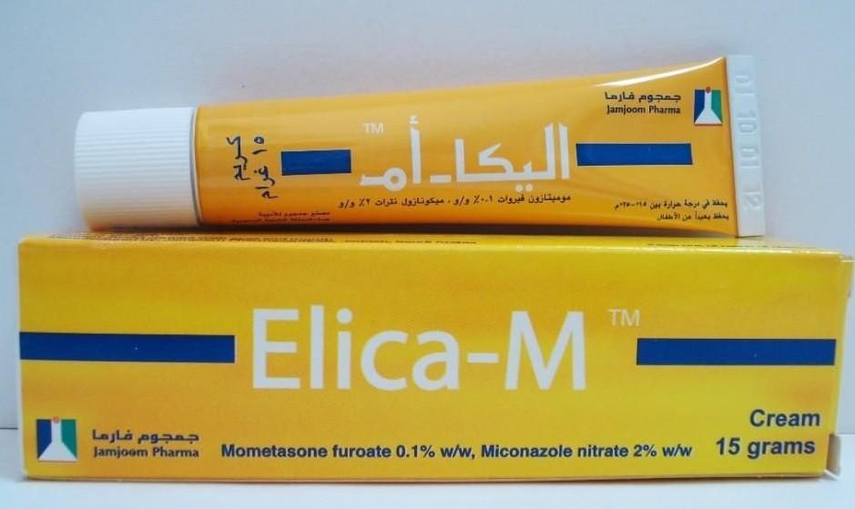 كريم اليكا أم Elica-M لعلاج الأمراض الجلدية وتفتيج الوجه