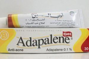 فوائد وأضرار أدابالين جيل ADAPALENE لعلاج حب الشباب