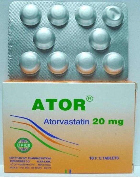 موانع الاستعمال لدواء أتور أقراص منظم للدهون