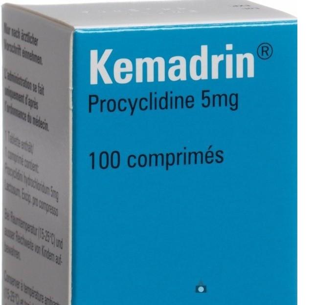 الآثار الجانبية لدواء Kemadrin أقراص