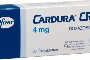 كاردورا أقراص Cardura Tablets لعلاج تضخم البروستاتا