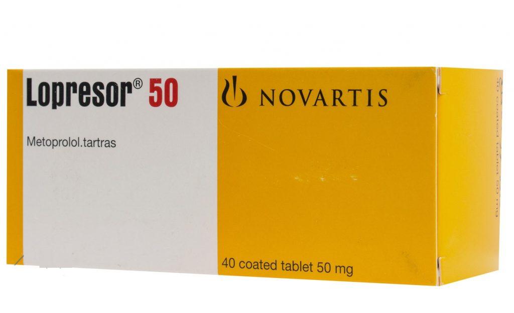 لوبريسور أقراص Lopressor Tablets لعلاج ضغط الدم المرتفع