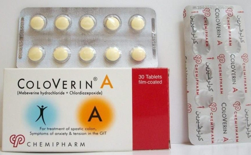 كولوفيرين أقراص Coloverin Tablets لعلاج التهابات القولون