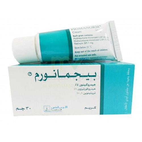 Photo of كريم بيجمانورم Pigmanorm Cream لتفتيح الأماكن الداكنة بالجسم