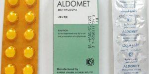 الدوميت أقراص Aldomet Tablets لتخفيض ضغط الدم