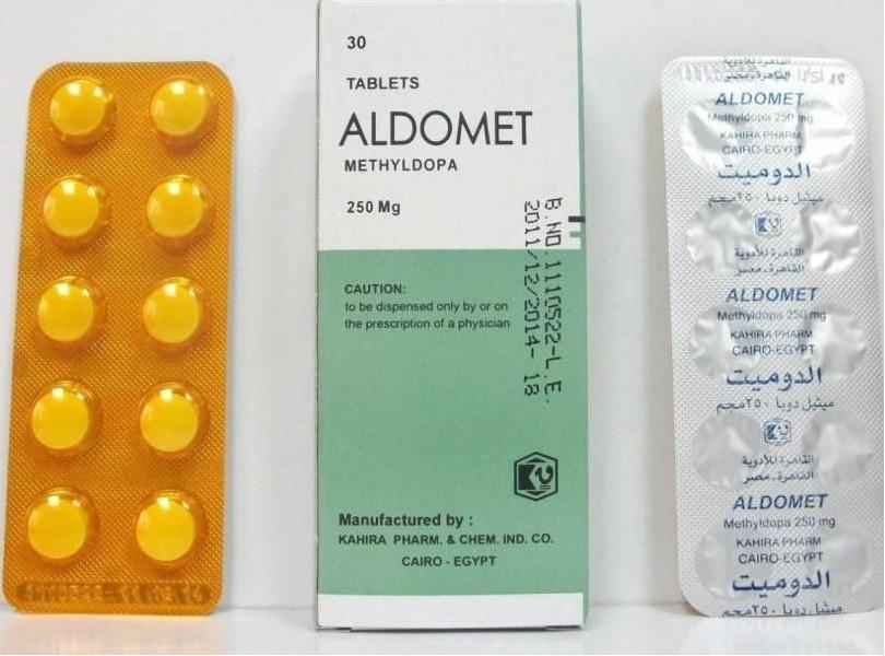 Photo of الدوميت أقراص Aldomet Tabletsلتخفيض ضغط الدم