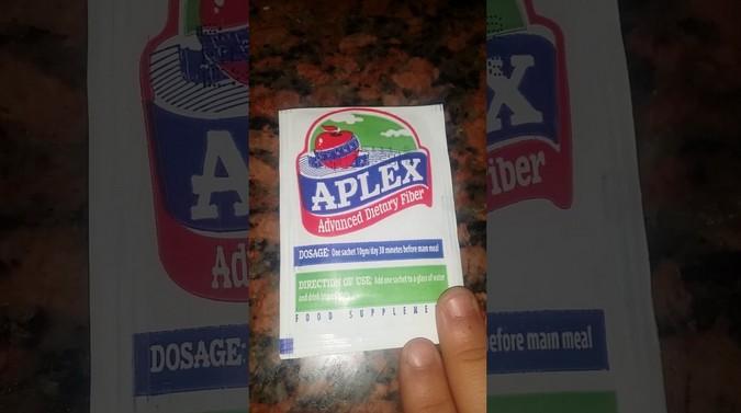 ابلكس aplex للتخسيس وطريقة استخدامه