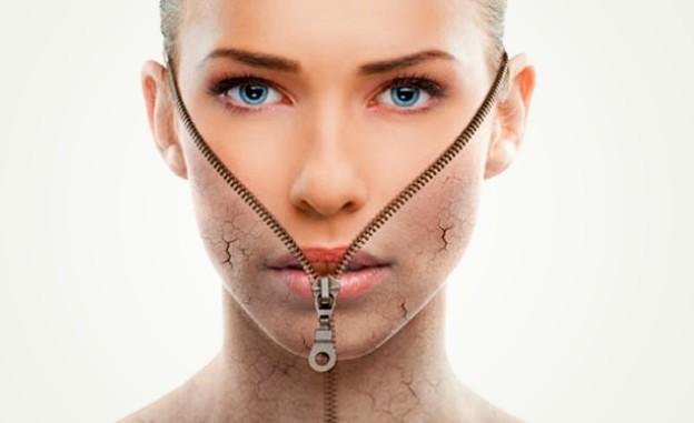 تقشير الوجه طبيعيا