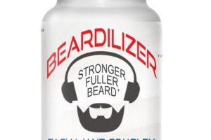بيرديلايزر كبسولات Beardilizer Capsules لتنمية اللحية والشوارب لدى الرجال