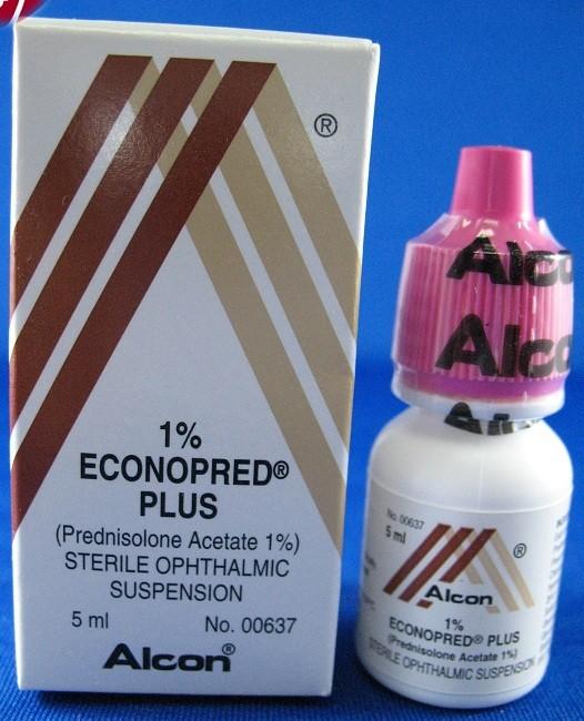 Photo of دواء ايكونوبريد بلس قطرة Econopred Plus Drops لعلاج التهابات العين