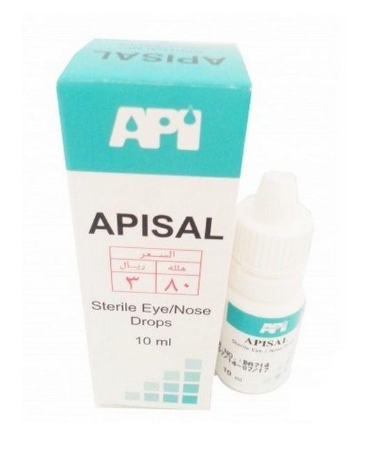أبيسال قطرة Apisal Drop للتخفيف من جفاف العين والأنف
